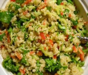 Κινόα με λαχανικά